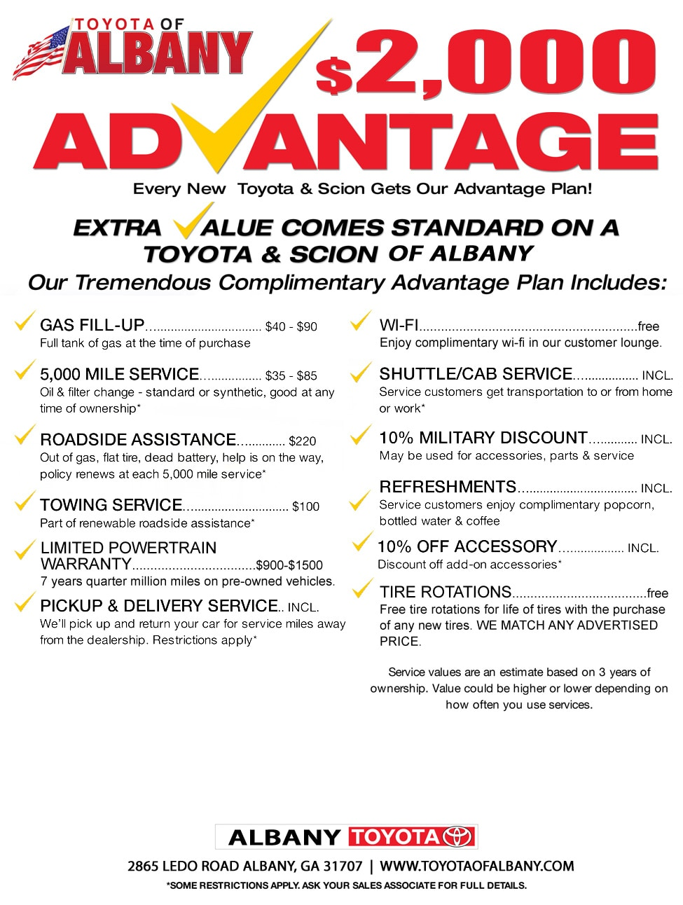 2k Advantage - April