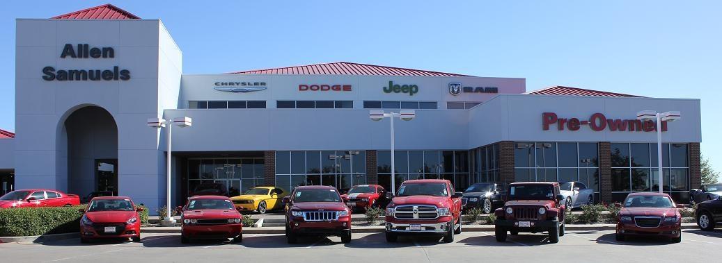 Allen Samuels Fort Worth >> Chrysler Jeep Dodge RAM new & used cars for sale Fort Worth TX | Denton, Keller, & Southlake