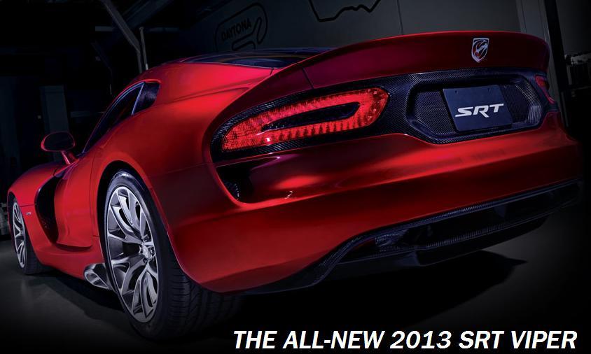 New Dodge Viper Srt Gts