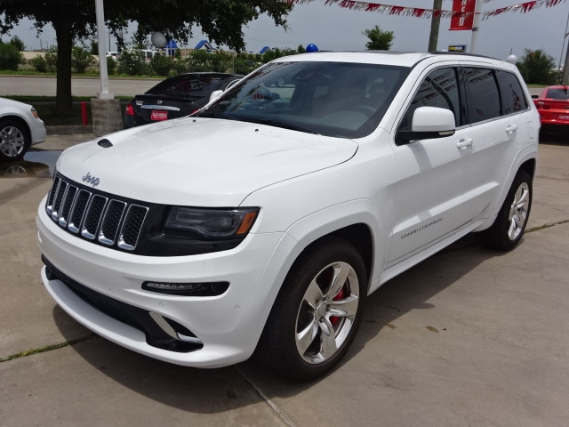 new 2015 jeep grand cherokee srt 4x4 for sale in katy tx. Black Bedroom Furniture Sets. Home Design Ideas