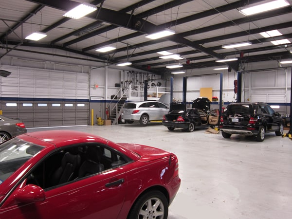 mercedes benz car repair service in waco auto service