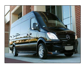 Sprinter Limosine Van in Black