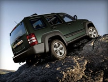 2012 Jeep Liberty has 7.8 inches of ground clearance.