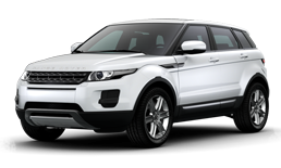 Land Rover Evoque white