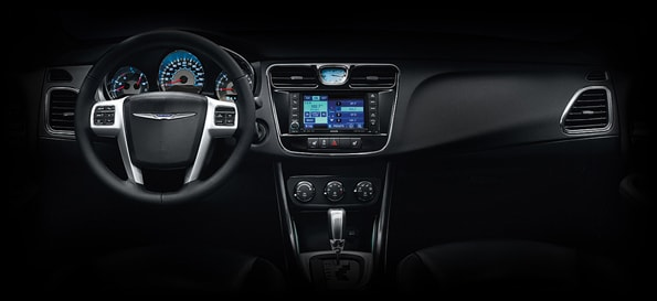 2012 Chrysler 200 Convertible Interior