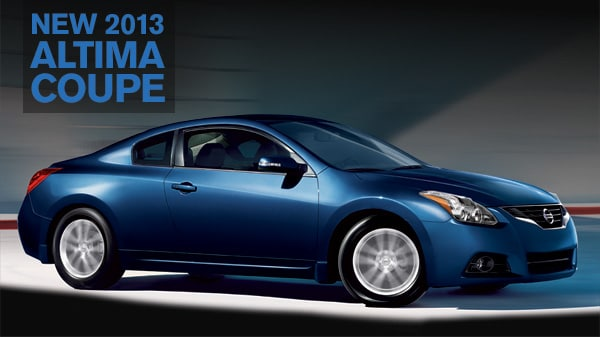 New 2013 Nissan Altima Coupe