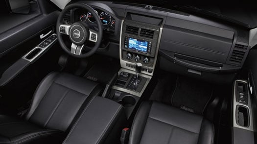 2012 Jeep Liberty interior