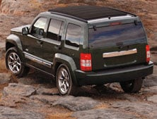 2012 Jeep Liberty is equipped with the CommandTrac 4WD system.