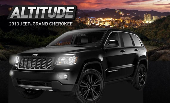 2013 Jeep Grand Cherokee Altitude