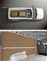 Nissan NV Cargo Space