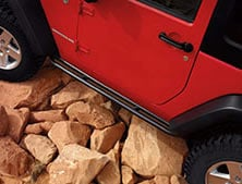 2012 Jeep Wrangler Rubicon Rock Climbing