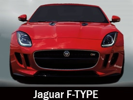 Jaguar F-type model page