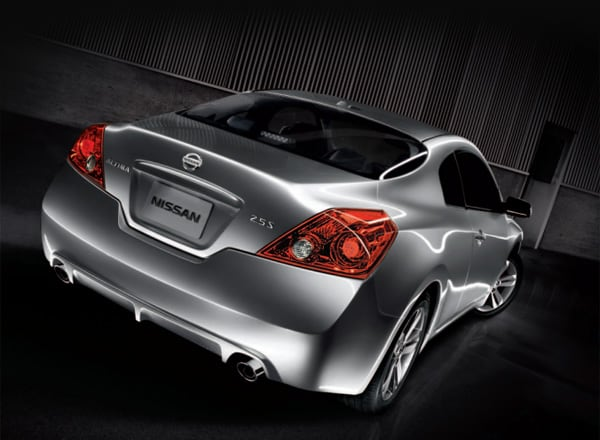 2013 Nissan Altima Coupe rear view