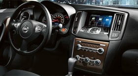 Leather steering wheel of 2013 Maxima