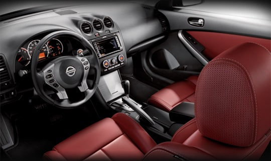 2013 Altima Coupe Interior
