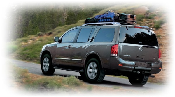 2013 Nissan Armada side view