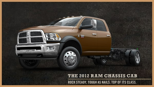 2012 Ram Chassis Cab