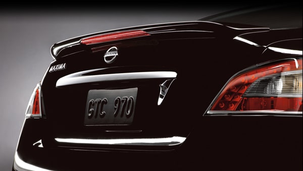 2013 Nissan Maxima rear view