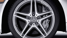 Mercedes-Benz 18-Inch Allow Wheel