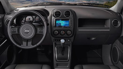 2012 Jeep Compass Interior from Drivers Side