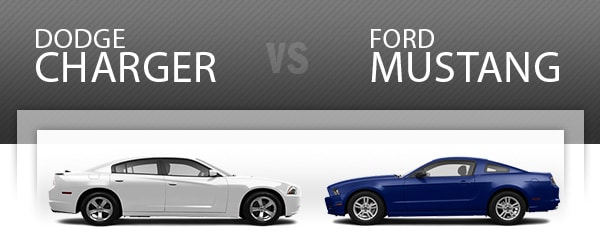 Dodge Charger vs. Ford... Dodge Charger 2014 Blue