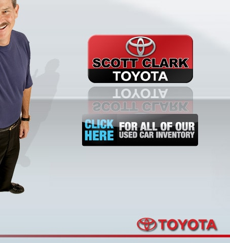 Scott Clark's Toyota New and Used Inventory