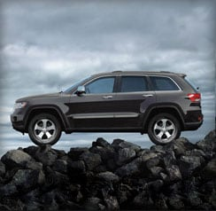Grand Cherokee 4WD systems