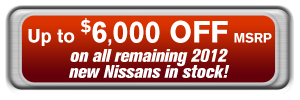 Up to $6,000 off MSRP on 2012 models