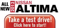 Test Drive the 2013 Nissan Altima