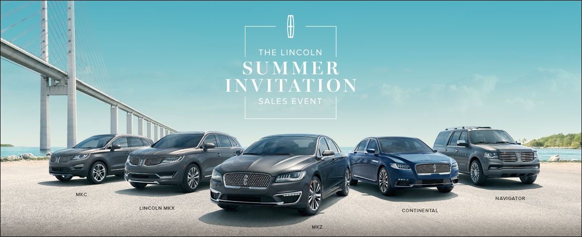 The Summer Invitation Sales Event is on NOW at Antelope Valley Lincoln in Lancaster