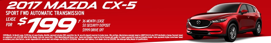 Lease a new Mazda CX-5 at Antelope Valley Mazda in Lancaster