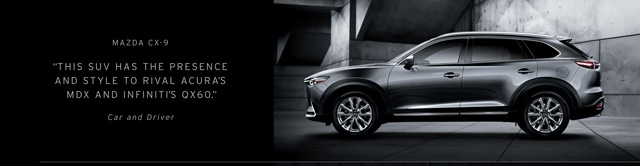 Drivers Choice: The Mazda CX-9 at Antelope Valley Mazda