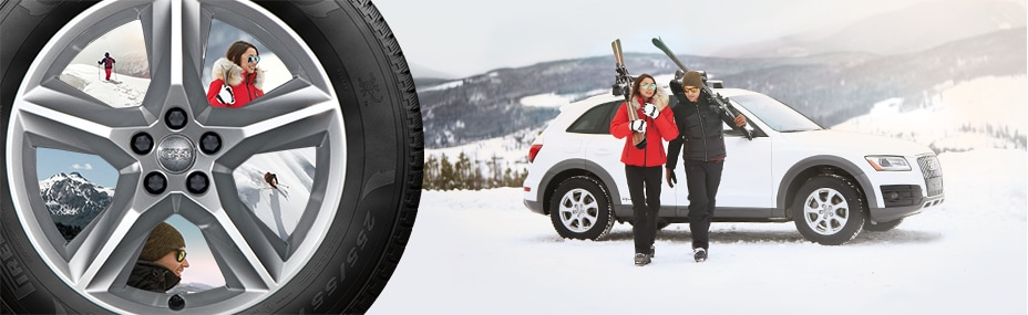 Audi Winter Wheel Tire Packages New PreOwned Audi Cars - Audi car tires