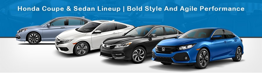 Honda Coupes And Sedans At Apple Honda