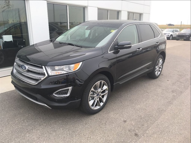 New 2017 Ford Edge Titanium SUV In Nisku and Edmonton Area