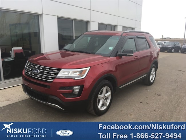 Used 2016 Ford Explorer XLT WITH NAV! $265.12 b/weekly. SUV  in Nisku