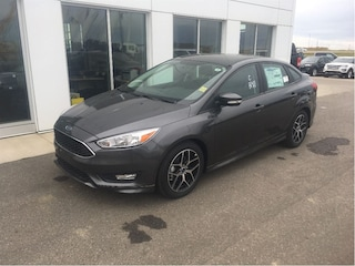 New 2017 Ford Focus SE Sedan in Nisku