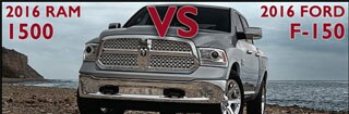 New Ram 1500 vs. New Ford F-150 in Asheboro NC
