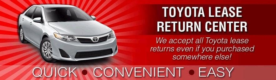 Toyota Lease Return Dallas TX