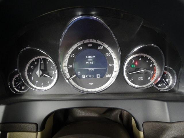 2011 MERCEDES E 350 COUPE E-CLASS