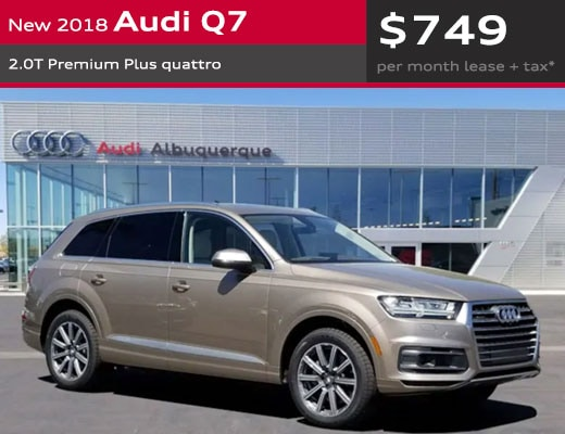 New Audi Specials In Albuquerque Luxury Car Deals - Audi abq