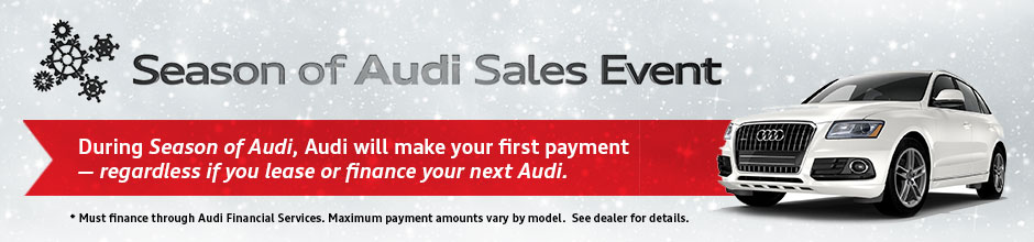 See All Our Season of Audi Offers