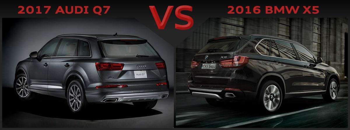 New 2016 BMW X5 vs 2017 Audi Q7   Asheville NC   Johnson ...