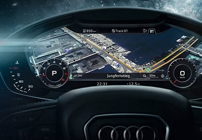 2017 Audi A4 Interior Technology
