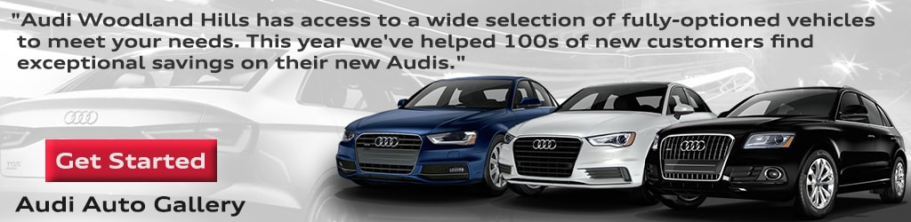 Search new Audi inventory listings for savings