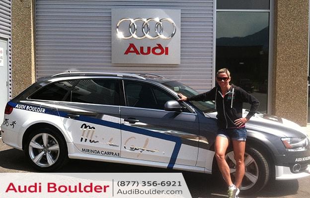 Audi Boulder and Rinny!