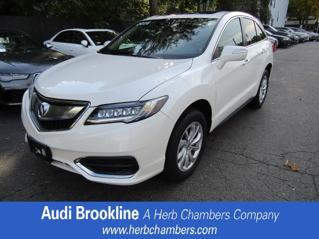 Used 2016 Acura RDX Tech PKG Sport Utility for sale in the Boston MA area