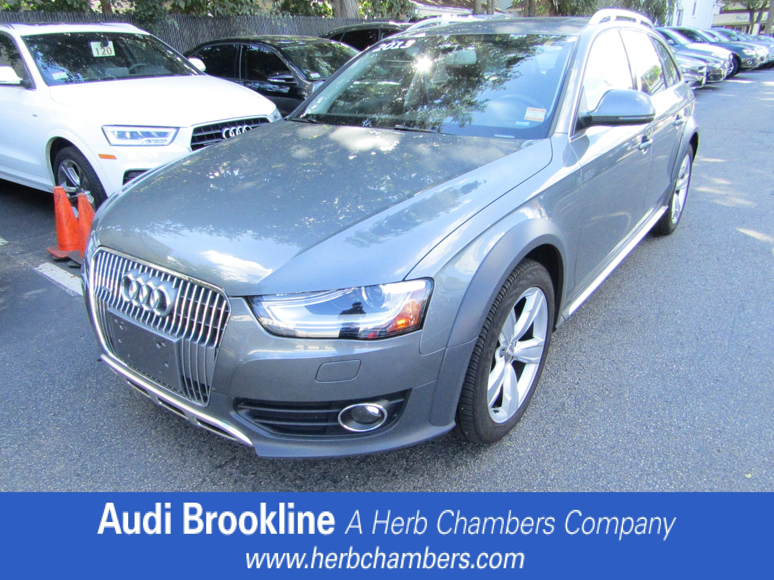 Certified Pre-Owned 2013 Audi Allroad Premium Plus Station Wagon for sale in the Boston MA area