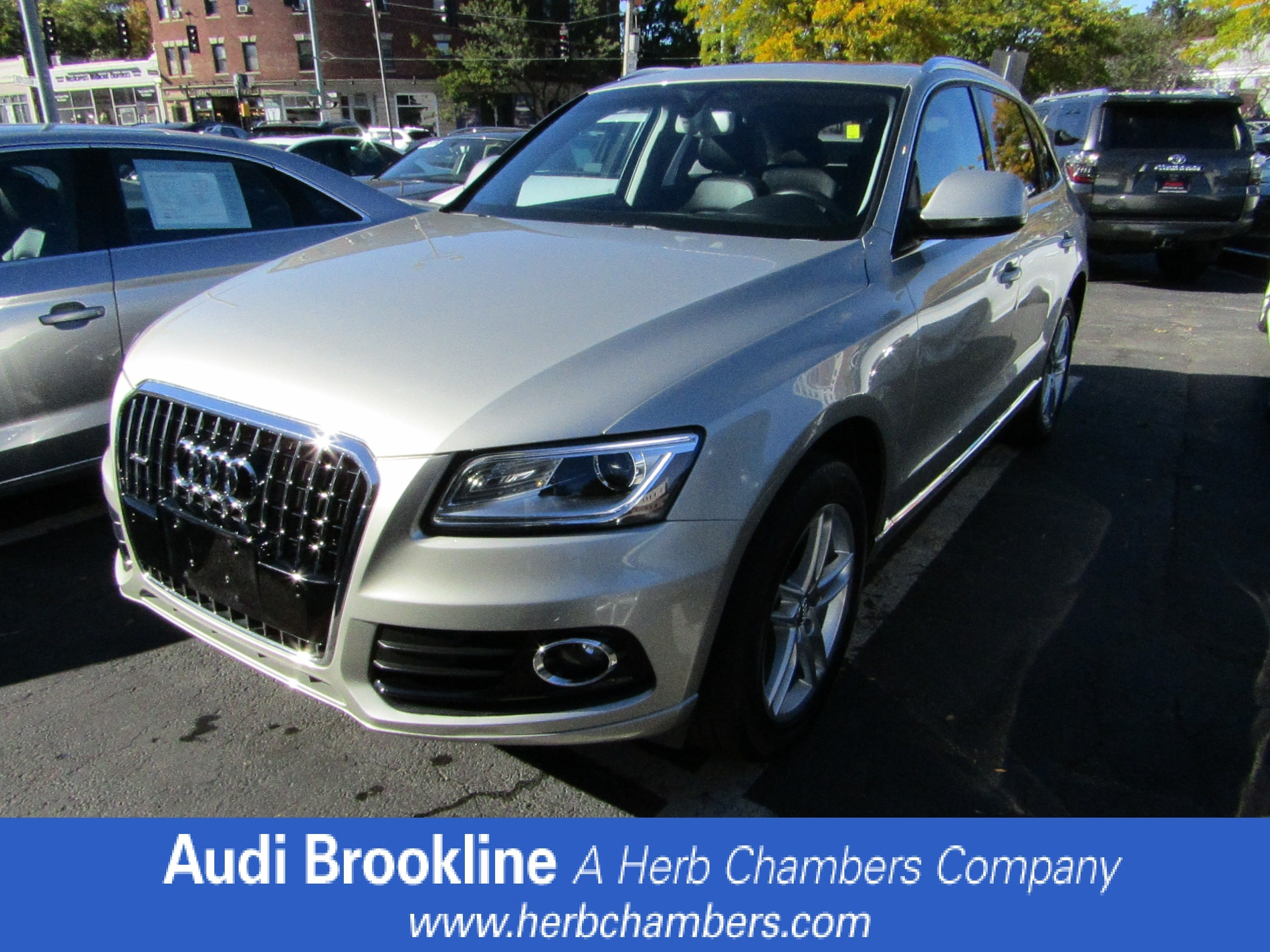 Used 2014 Audi Q5 Premium Plus Sport Utility for sale in the Boston MA area