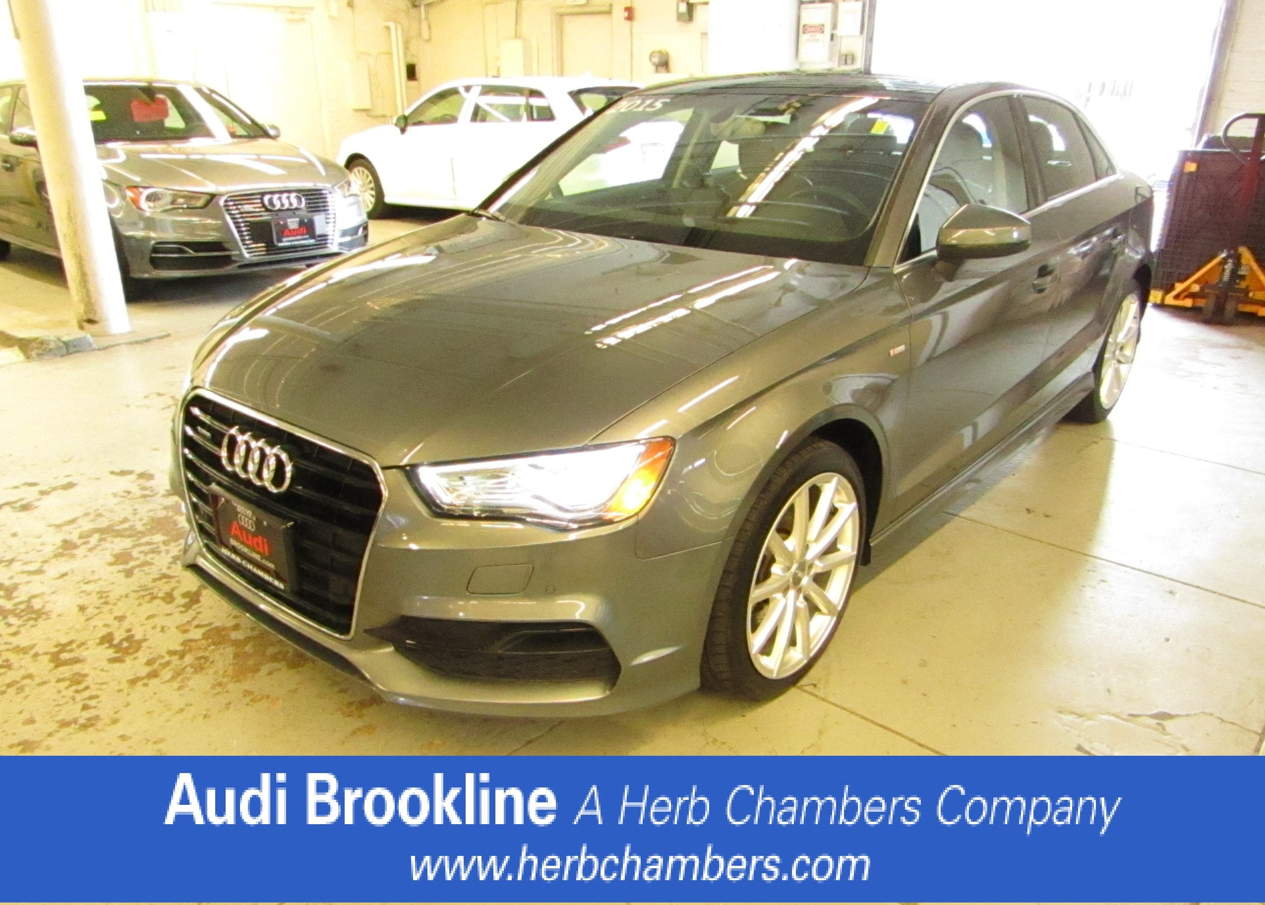 Certified Pre-Owned 2015 Audi A3 2.0T Prestige Car for sale in the Boston MA area